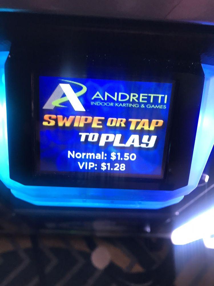 Andretti Indoor Karting & Games- San Antonio