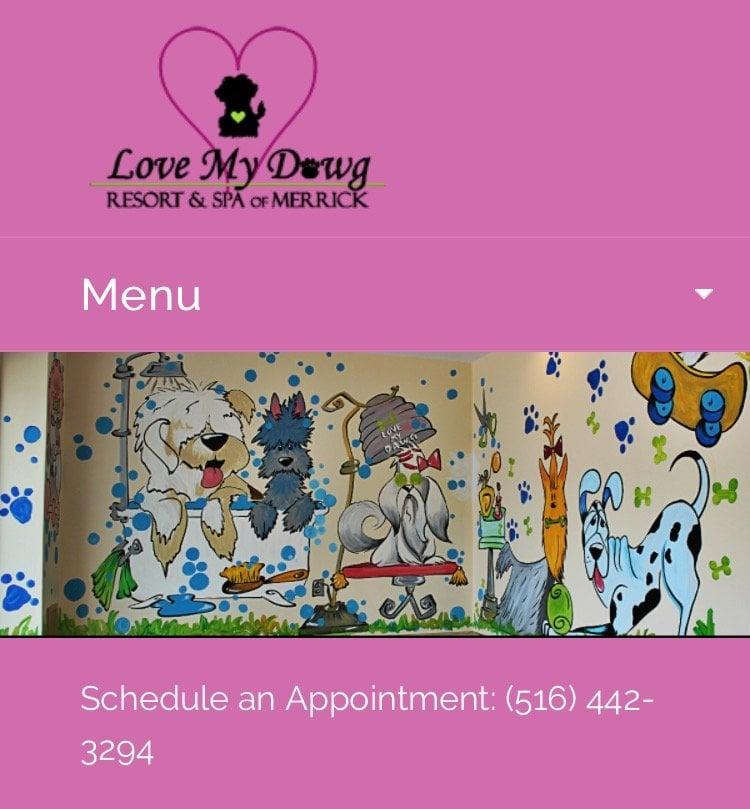 Love My Dawg Resort And Spa Merrick Ny