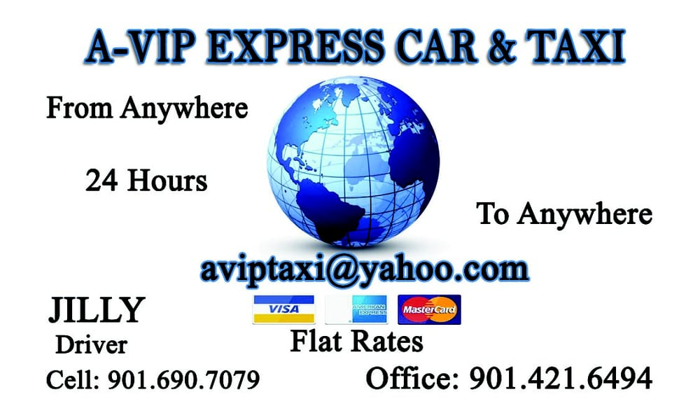 Avip Car & Taxi Service: Memphis, TN