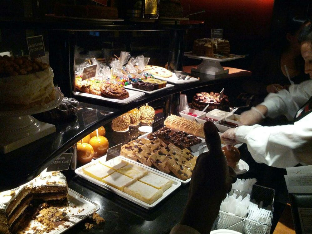 The Dessert Cart At Staples Center Luxury Suite Level Yelp