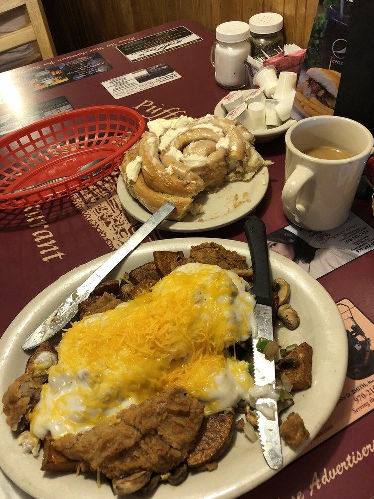 Pufferbelly Restaurant: 337 S 1st St, Grand Junction, CO