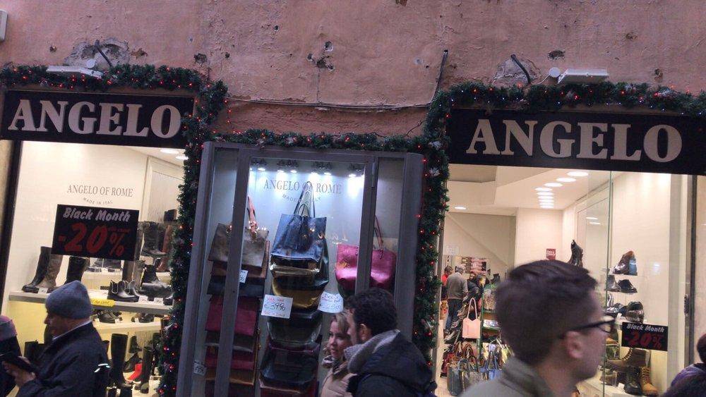 7258e4fac0e2 Angelo Shoes - Negozi di scarpe - Piazza Trevi, 87, Centro Storico, Roma -  Numero di telefono - Yelp