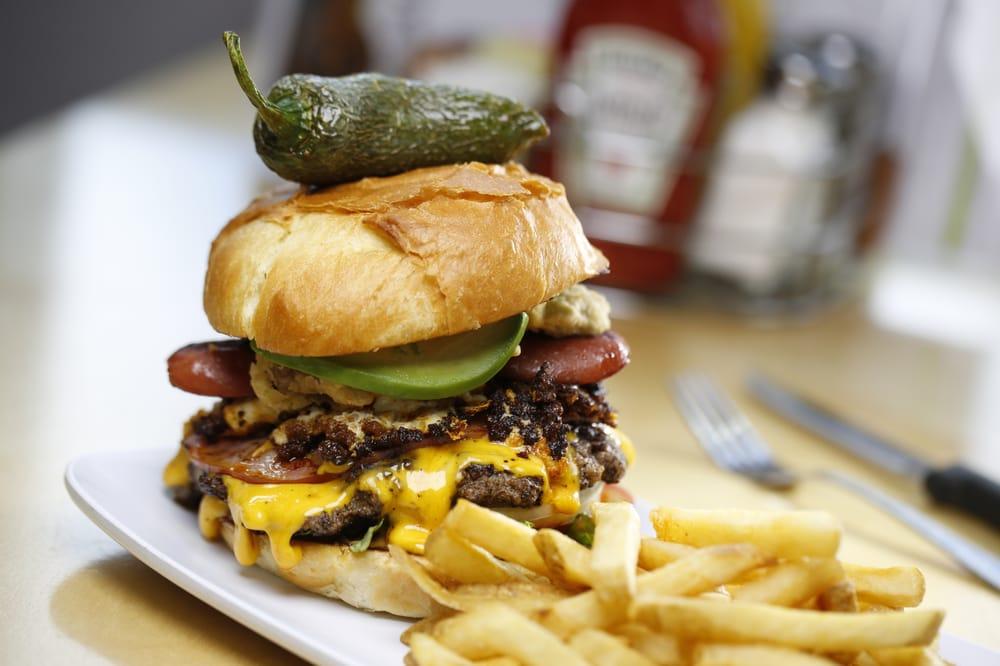 Crave Real Burgers - Castle Rock: 3982 Limelight Ave, Castle Rock, CO