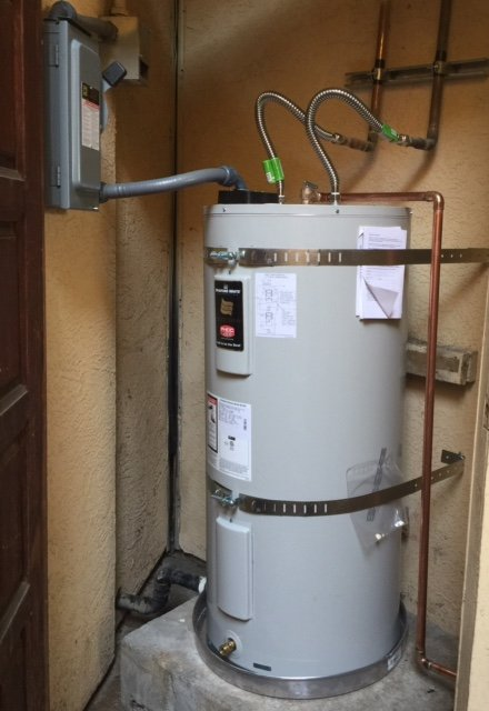 50 Gallon Electric Light Duty Commercial Water Heater With