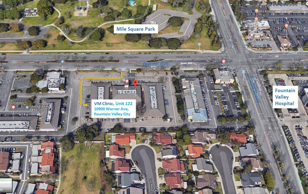 VM Clinic   10900 Warner Ave Unit 122, Fountain Valley, CA, 92708   +1 (714) 465-2222