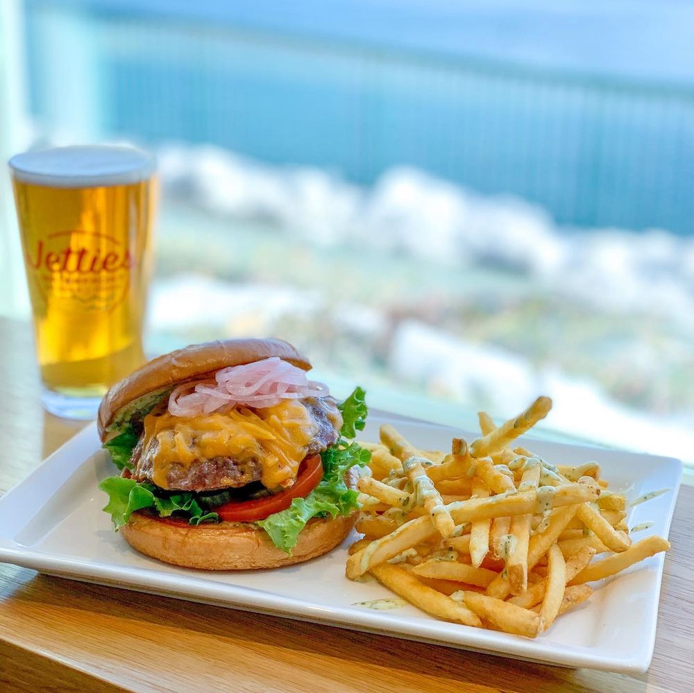 Jetties Waterfront Kitchen + Drink: 28200 Hwy 189, Lake Arrowhead, CA