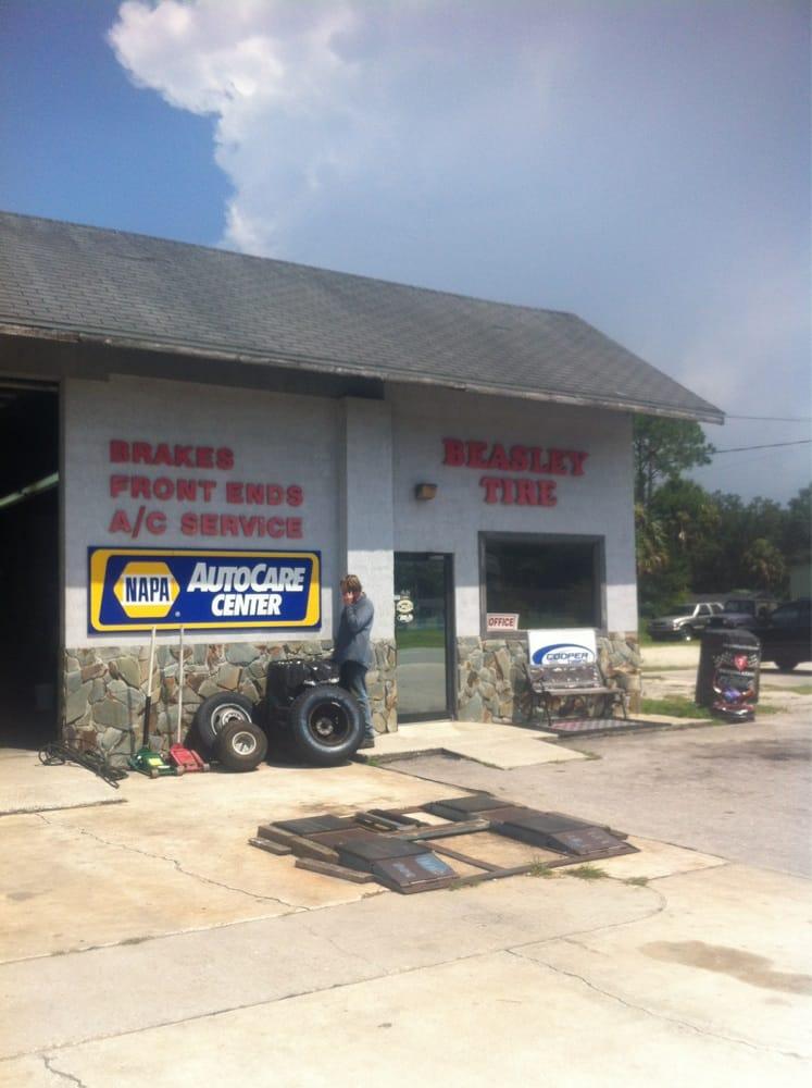 Beasley Tire Co: 45 Hwy 19 S, Inglis, FL