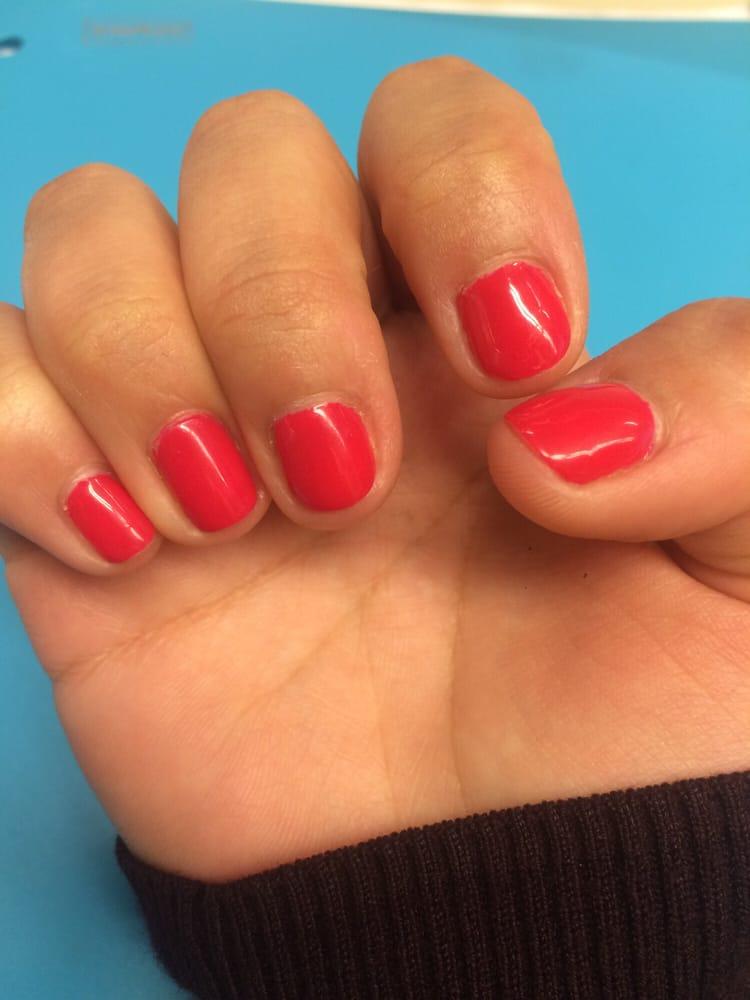Gel manicure, $35 - Yelp