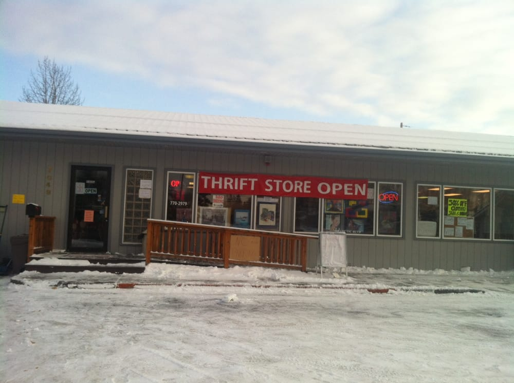Yours Mine Ours Thrift Store Thrift Stores 7049 Arctic Blvd Anchorage Ak Phone