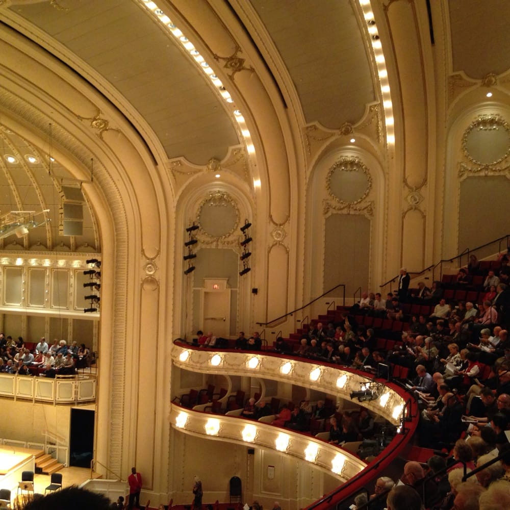 chicago symphony orchestra hall. - yelp