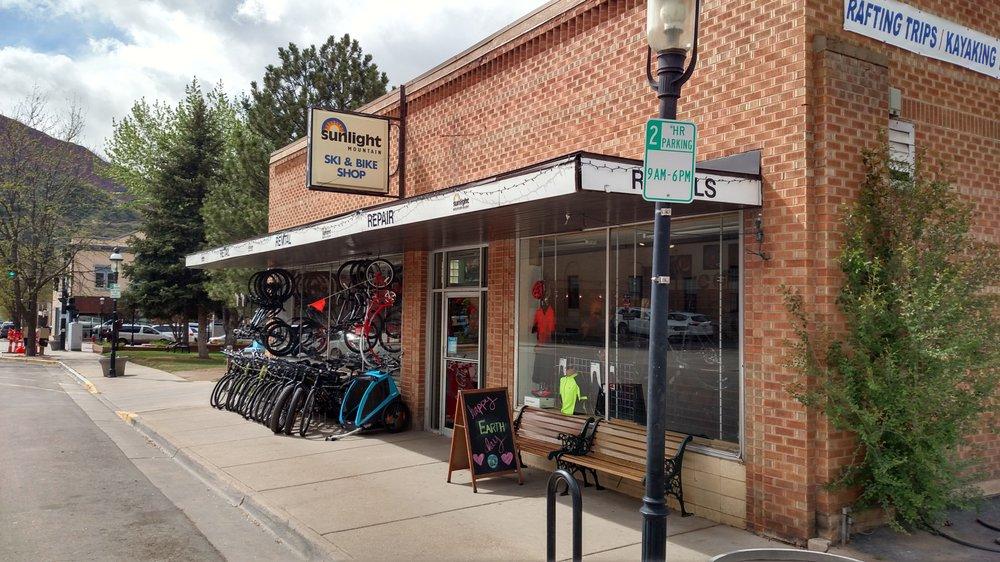 Sunlight Mountain Ski & Bike Shop: 309 9th St, Glenwood Springs, CO
