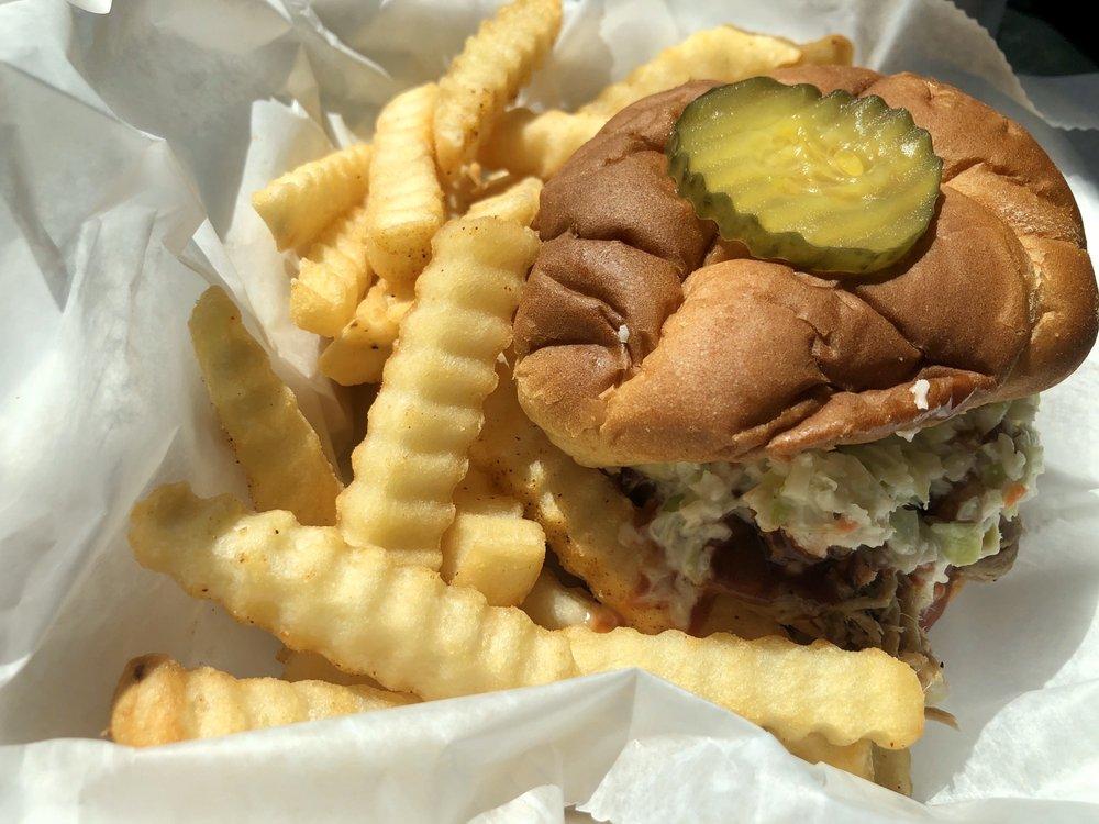 Hannah's BBQ South: 31 Pinewood Rd, Granite Falls, NC