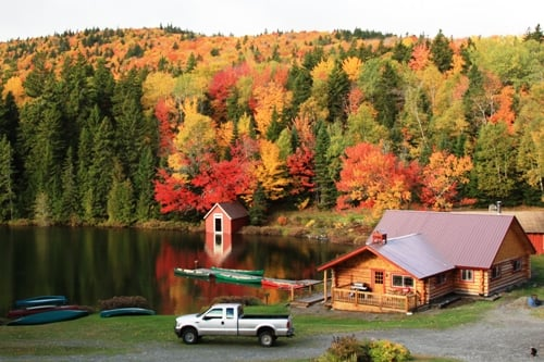 Red River Camps: Portage, ME