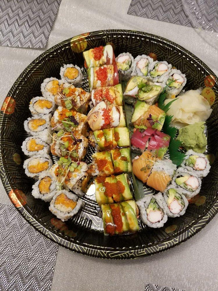 Iron Stone Hibachi Sushi Lounge: 19890 Belmont Chase Dr, Ashburn, VA