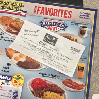 Waffle House Promo Codes for November, Save with 5 active Waffle House promo codes, coupons, and free shipping deals. 🔥 Today's Top Deal: (@Amazon) Up To 50% Off Waffle House. On average, shoppers save $42 using Waffle House coupons from e3lenak3ena.ml