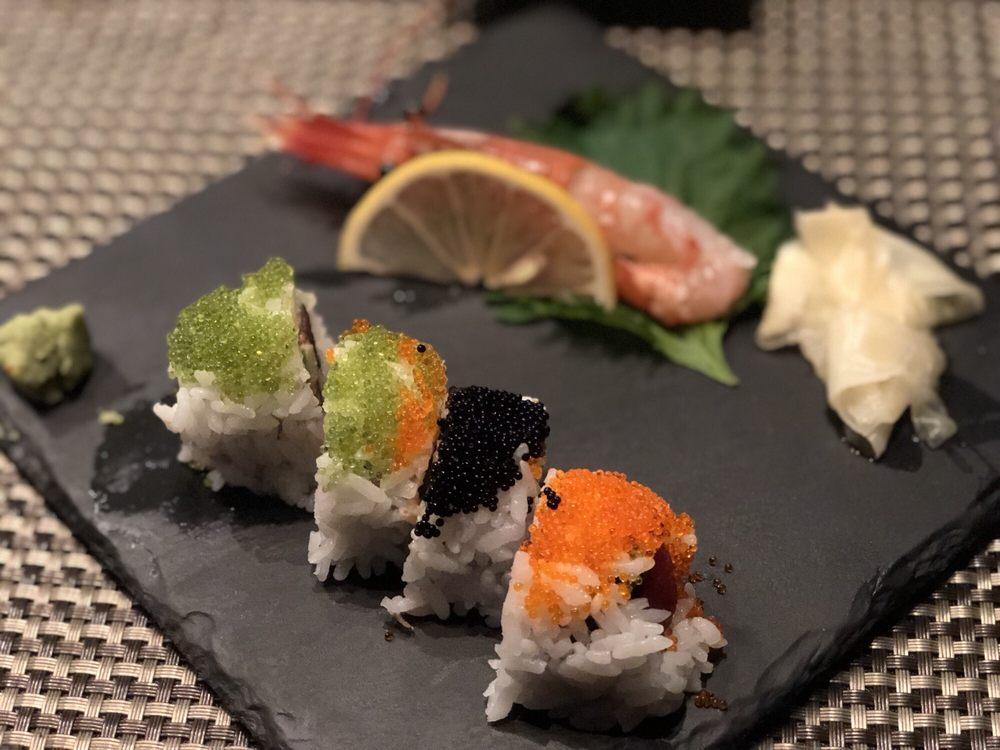 Food from Sushi Miyazawa