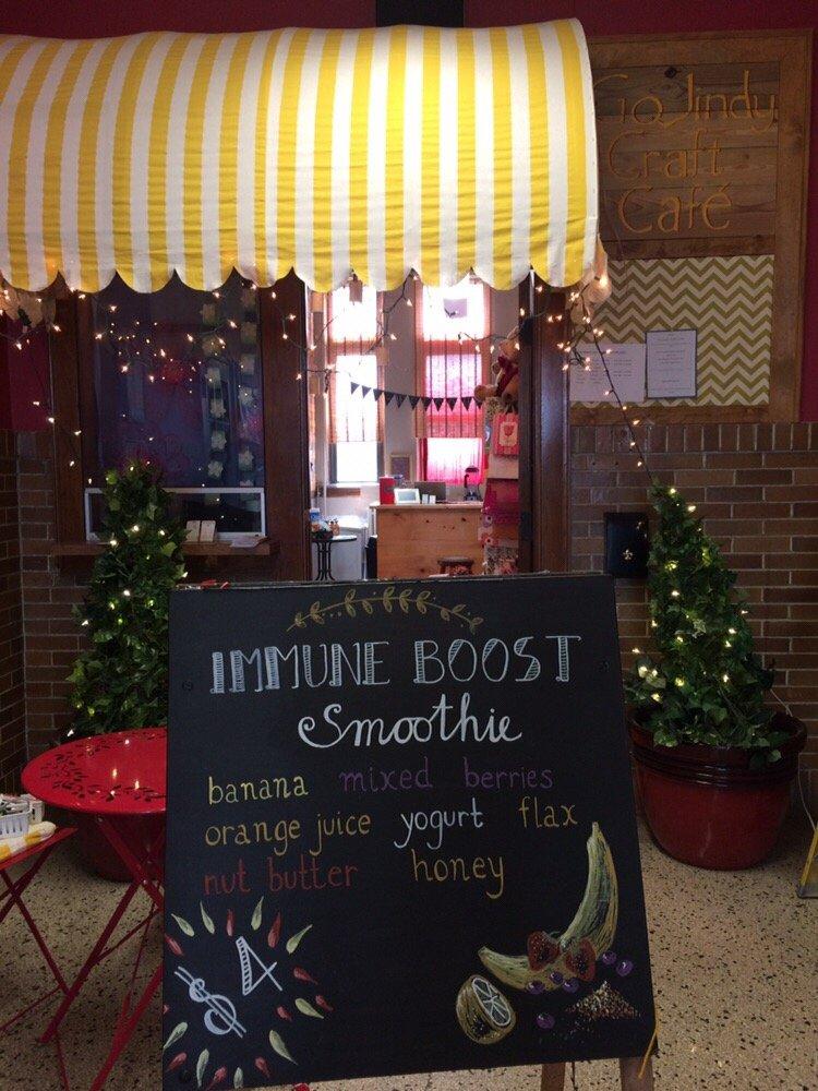 GoJindy Craft Cafe: 1000 W Burlington Ave, Fairfield, IA