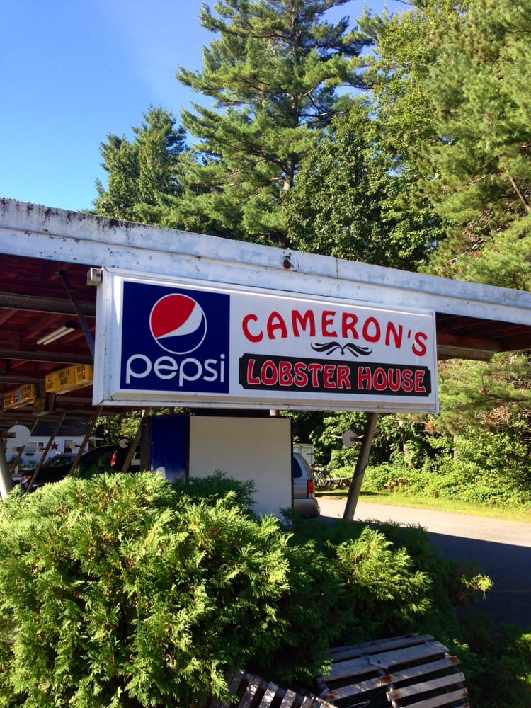 Cameron's Lobster House: 18 Bath Rd, Brunswick, ME