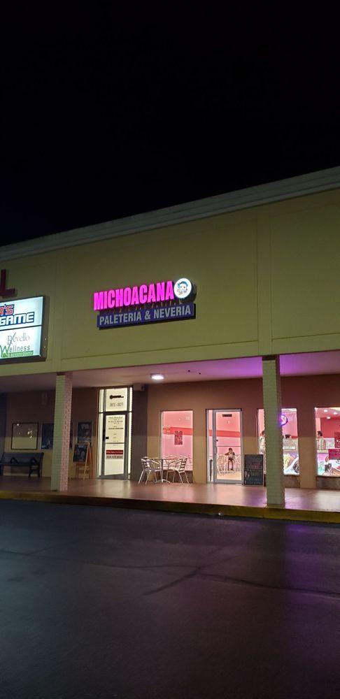 Michoacana Neveria & Paleteria: 10027 N Dalemabry Hwy, Tampa, FL