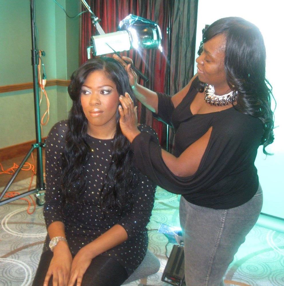 Sew In Weave Model At Styles Q Magazine Shoot Yelp