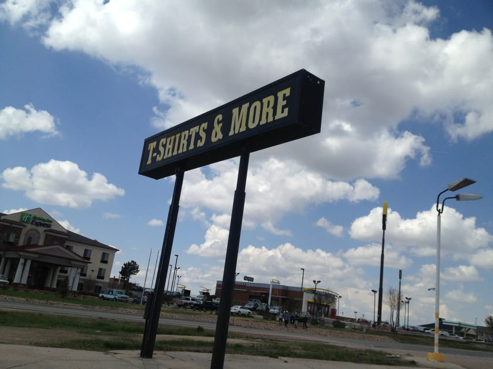 T-Shirts & More: Interstate 70 Business, Limon, CO