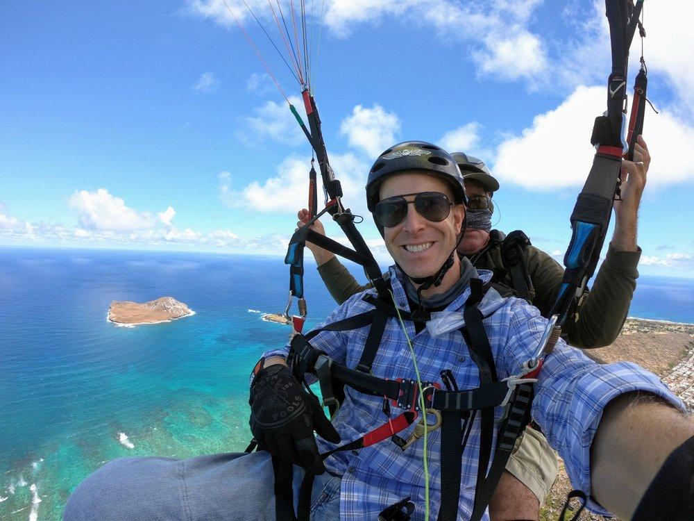 Oahu Hawaii Tandem Paragliding Flights: 41-95 Kalanianaole Hwy, Makapuu Beach, HI