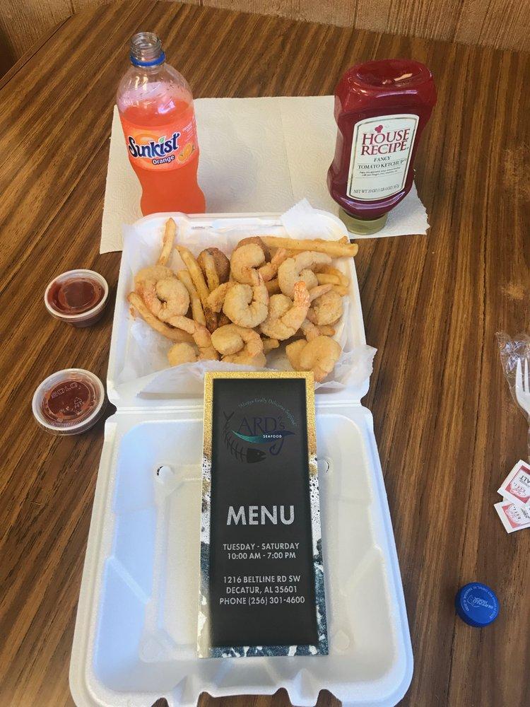 Ard's Seafood Market: 1216 Beltline Rd, Decatur, AL