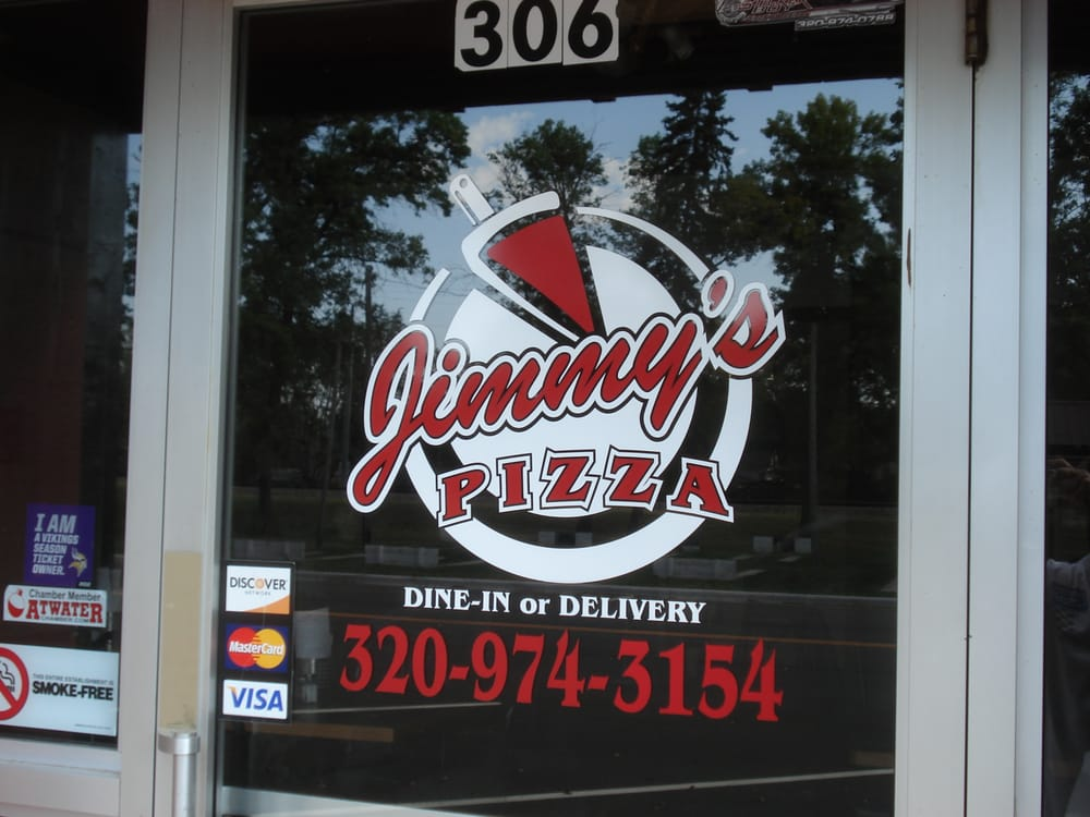 Jimmy's Pizza III: 306 Atlantic Ave, Atwater, MN