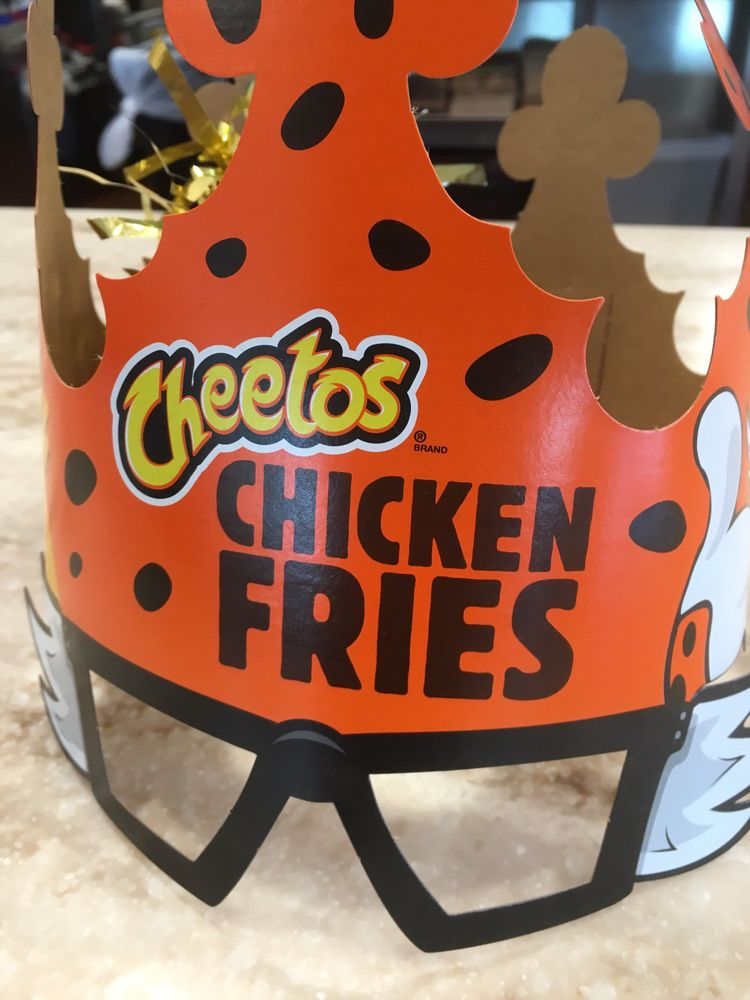 Heavy Is The Head That Wears The Chester Cheetah Cheetos Chicken