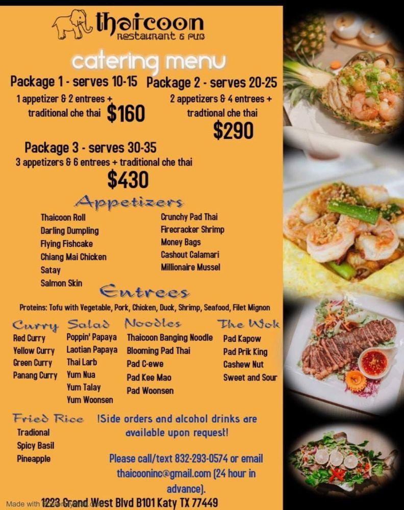 Thaicoon: 1223 Grand W Blvd, Katy, TX