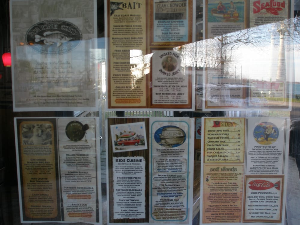 The marine city fish company menu if you can 39 t read it for Jj fish and chicken near me