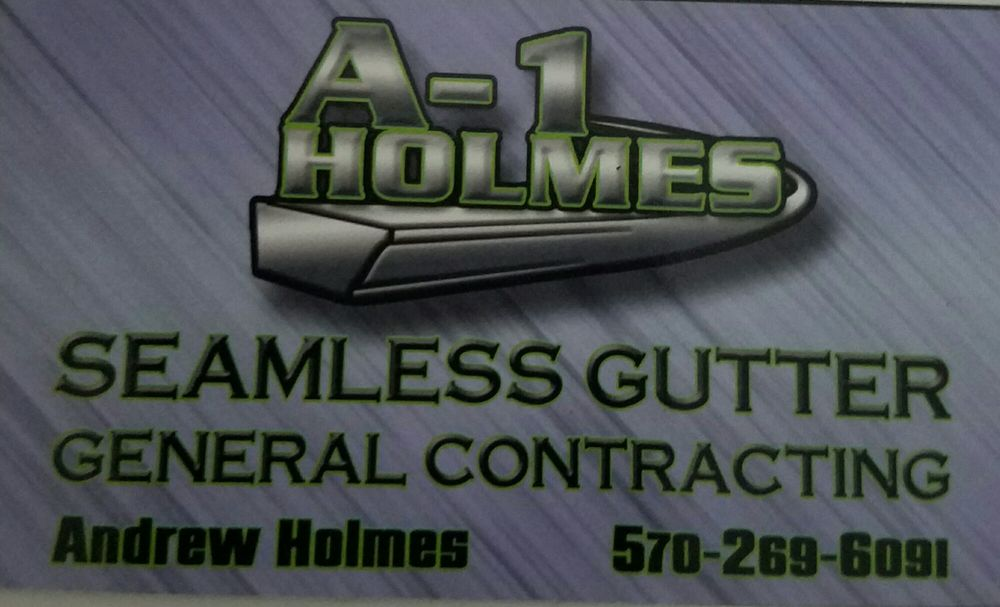 A1 Holmes Seamless Gutters & General Contracting Gift Card