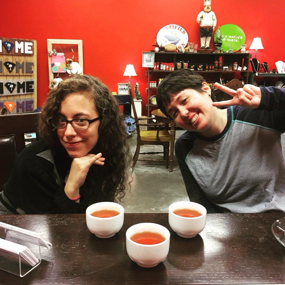The Market Tea Room: 322 Little Brooke Ln, West Columbia, SC