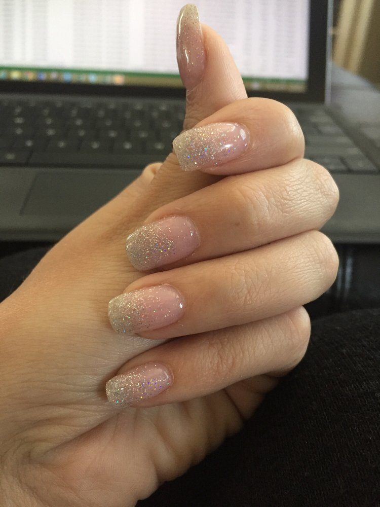 This place makes my natural nail look amazing! These are my own ...