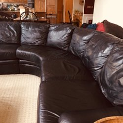 Photo Of Technique Leather Furniture Cleaning Repair Bartlett Il United States