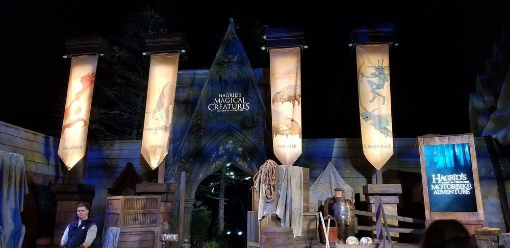 Hagrid's Magical Creatures Motorbike Adventure: 6000 Universal Blvd, Orlando, FL