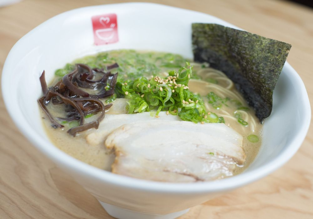Food from Tatsu Ramen