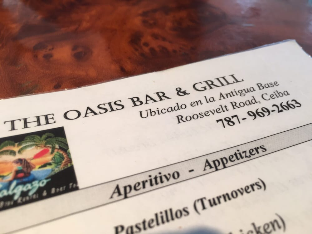 The Oasis Bar & Grill: Base Rosevelt Roads S/N, Roosevelt Roads, PR