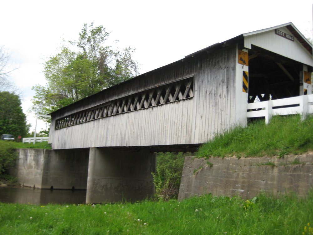 Root Road Covered Bridge: 12 W Ashtabula St, North Fairfield, OH