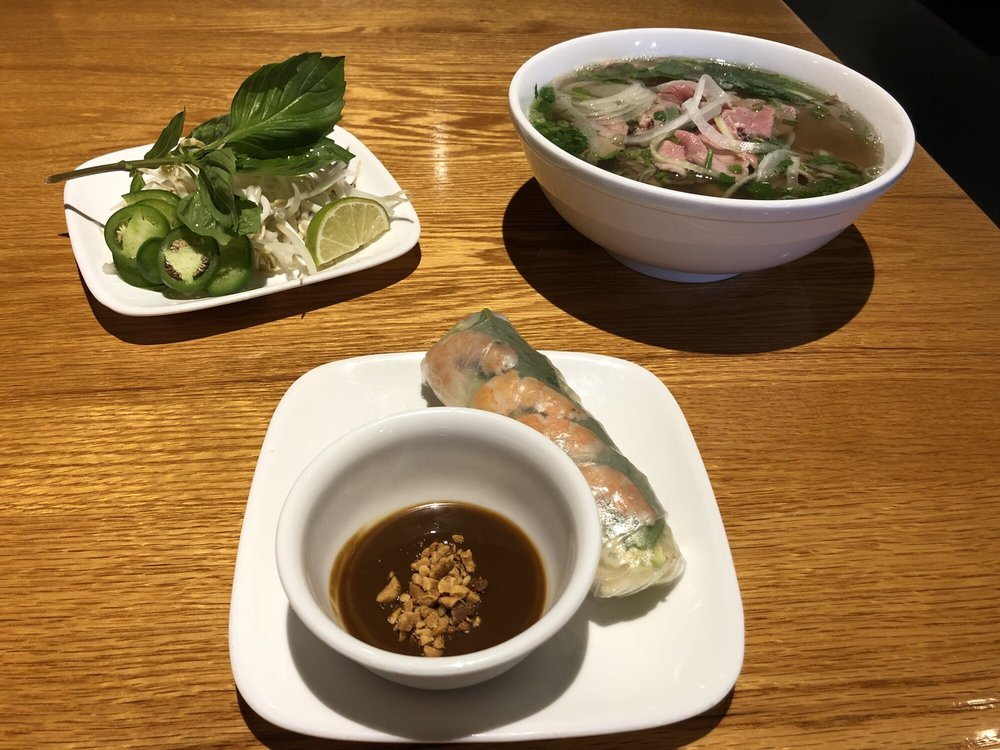 Food from Pho 7 Spice