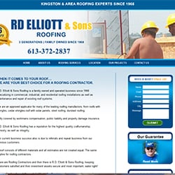 RD Elliott Roofing   10 Photos   Roofing   3010 Quabbin Road ...
