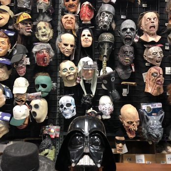 photo of halloween club la mirada ca united states wall of masks