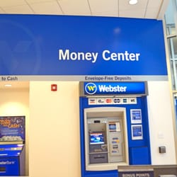 webster bank coin machine
