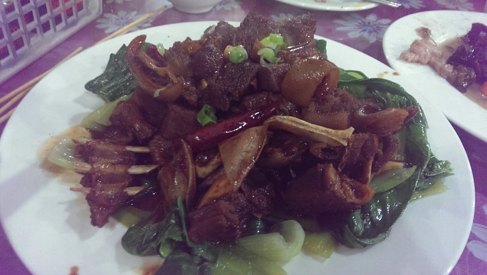 ... Yummy Restaurant - Flushing, NY, United States. Lamb in brown sauce