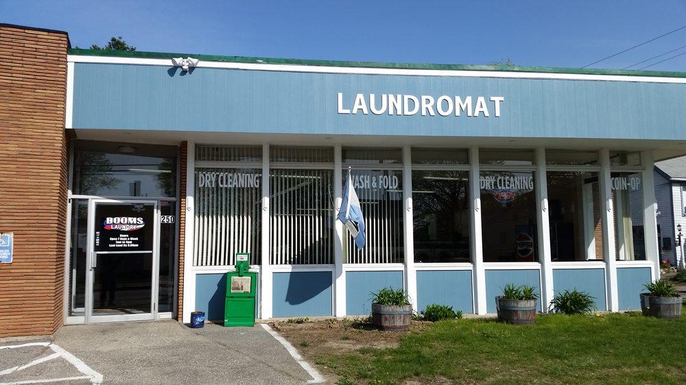 Booms Laundry: 250 Elm St, Biddeford, ME