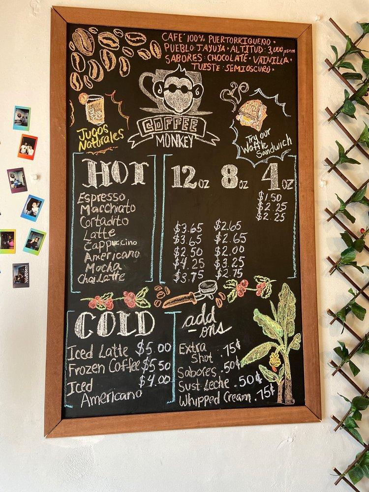 Coffee Monkey: Av. Valero S/N, Fajardo, PR