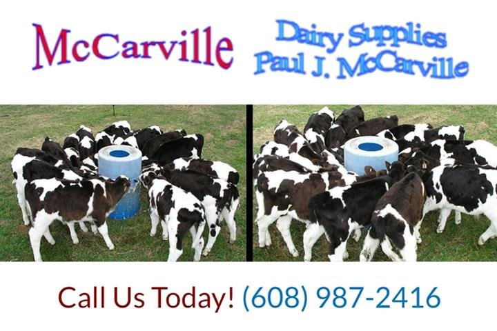 McCarville Dairy Supplies: 820 Center St, Mineral Point, WI