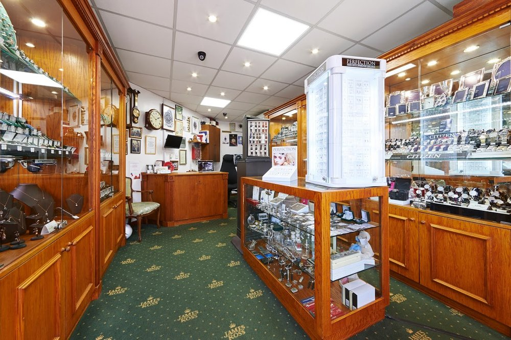 James Ross Jewellers: 29 Station Road, Brighton, BNH