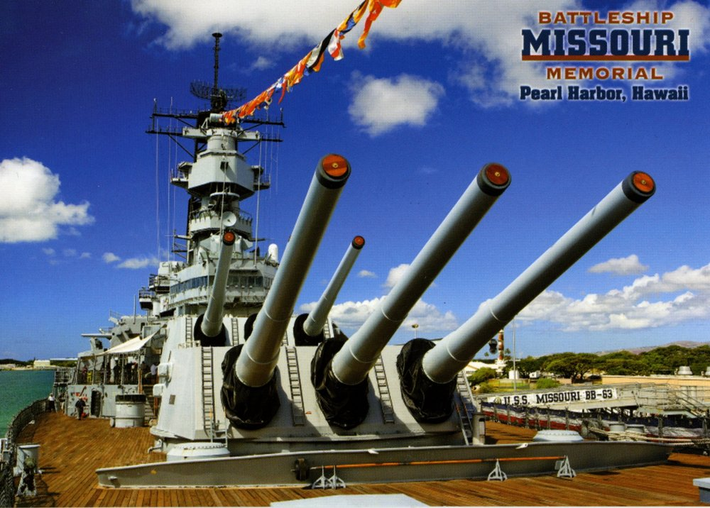 Uss Missouri Bb-63 Memorial Association - (New) 243 Photos