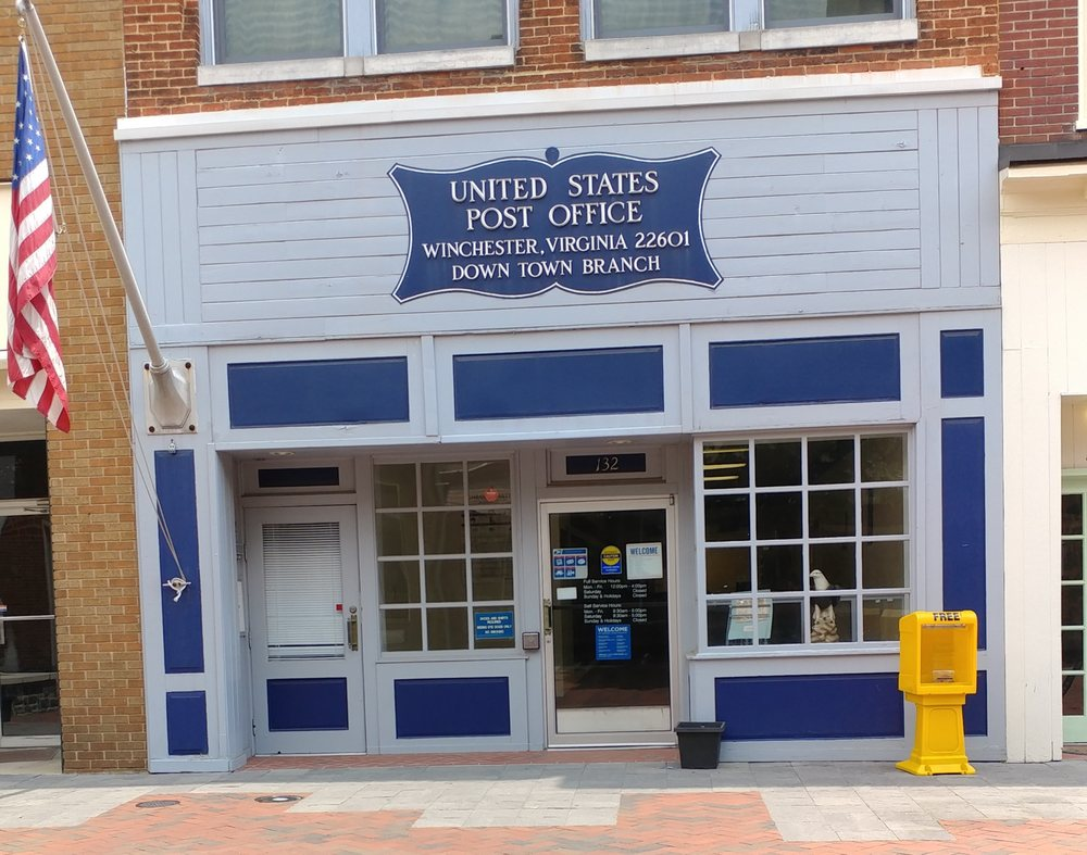 Us post office post offices 132 n loudoun st - United states post office phone number ...